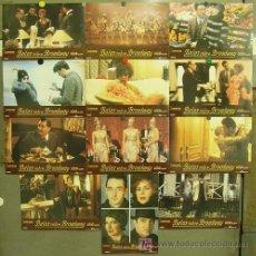 Cine: FT68 BALAS SOBRE BROADWAY WOODY ALLEN JOHN CUSACK SET COMPLETO 12 FOTOCROMOS ORIGINAL ESTRENO. Lote 206881427