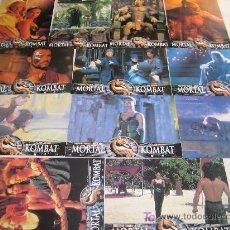 Cinema: MORTAL KOMBAT - COLECCION 12 FOTOCROMOS DEL ESTRENO. Lote 10434021
