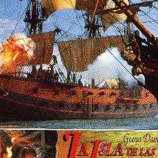 Cine: LA ISLA DE LAS CABEZAS CORTADAS (FOTOCROMO ORIGINAL). Lote 10864735