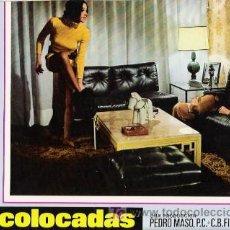 Cine: LAS COLOCADAS, FOTOCROMO ORIGINAL DEL ESTRENO DE LA PELICULA, TERESA GIMPERA, LA CONTRAHECHA,. Lote 10996082