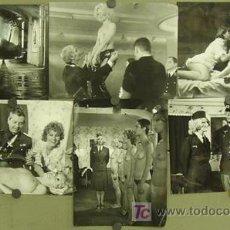 Cine: F1160 TREN ESPECIAL PARA HITLER SS SEXPLOITATION 6 FOTOS ORIGINALES B/N ESPAÑOLAS. Lote 11017494