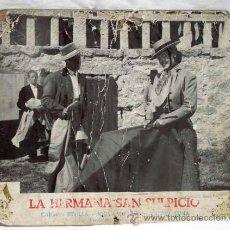 Cine: CARTELERA LA HERMANA SAN SULPICIO 1952 CON CARMEN SEVILLA JORGE MISTRAL Y MANUEL LUNA. Lote 11079760