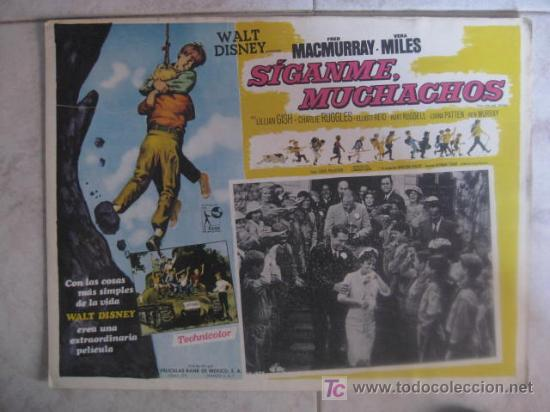 FOTOCROMO MEXICANO : SIGANME MUCHACHOS (20 DOCENAS DE HIJOS).FRED MACMURRAY, VERA MILES (Cine - Fotos, Fotocromos y Postales de Películas)