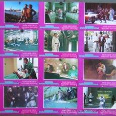 Cine: GG21 STAR TREK 4 MISION SALVAR LA TIERRA WILLIAM SHATNER NIMOY SET 12 FOTOCROMOS ORIGINAL ESTRENO. Lote 11135491