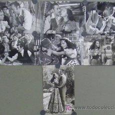 Cine: F1844 PAQUITA RICO LA ALEGRE CARAVANA 7 FOTOS B/N ORIGINALES ESPAÑOLAS. Lote 11154779