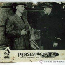 Cine: CARTELERA PERSEGUIDO ESCAPE ROUTE 1953 PETER GRAHAM SCOTT SEYMOUR FRIEDMAN DE PAX FILMS. Lote 11165533