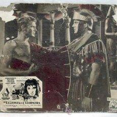 Cine: CARTELERA LAS LEGIONES DE CLEOPATRA 1959 CONRADO SANMARTÍN MARÍA MAHOR DE VITTORIO COTTAFAVI. Lote 11167082