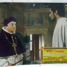 Cine: CARTELERA EL MAGNÍFICO AVENTURERO 1963 BRETT HALSEY CLAUDIA MORI DE RICCARDO FREDDA UNIVERSAL FILMS. Lote 11178574