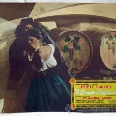 Cine: CARTELERA EL MAGNÍFICO AVENTURERO 1963 BRETT HALSEY CLAUDIA MORI DE RICCARDO FREDDA DE UNIVERSAL FI. Lote 11178797