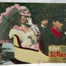 Cine: CARTELERA EL BAILE 1959 ALBERTO CLOSAS CONCHITA MONTES DE EDGAR NEVILLE DE EASTMANCOLOR. Lote 11179683