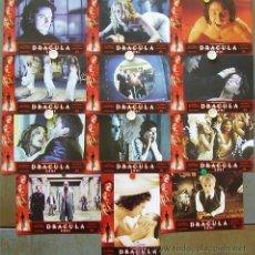 Cine: GK63 DRACULA 2001 JONNY LEE MILLER CHRISTOPHER PLUMMER SET COMPLETO 12 FOTOCROMOS ORIGINAL ESTRENO. Lote 11224420