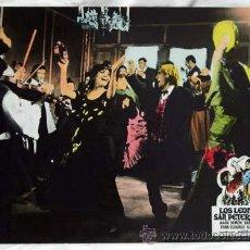 Cine: CARTELERA LOS LEONES DE SAN PETERSBURGO 1972 MARK DAMON BÁRBARA O'NEIL MARIO SICILIANO CINEMASCOPE. Lote 11246889