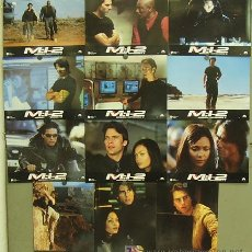 Cine: GH94 MISION IMPOSIBLE 2 MI2 TOM CRUISE JOHN WOO SET 12 FOTOCROMOS ORIGINAL FRANCES. Lote 11265930