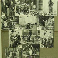 Cine: ZU92D EL CIRCO CHARLES CHAPLIN SET 12 FOTOCROMOS ORIGINAL FRANCES. Lote 11265987