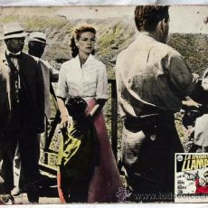 Cine: CARTELERA LA INDIA EN LLAMAS 1959 LAUREN BACALL KENNETH MORE DE J LEE THOMPSON DE CEA DISTRIBUCIÓN. Lote 11262680