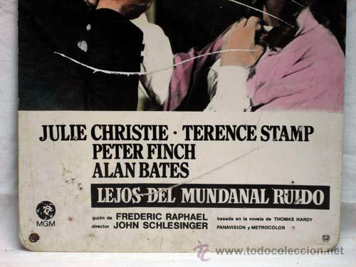 Cine: Cartelera Lejos del mundanal ruido 1967 Julie Christie Terence Stamp Alan Bates, John Schlesinger - Foto 2 - 11344319