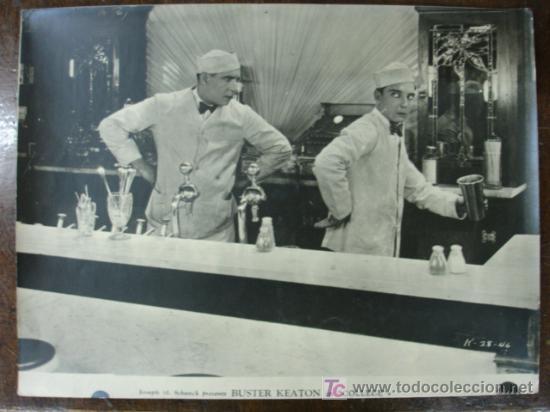 JOSEPH M. SCHENK PRESENTS BUSTER KEATON IN 'COLLEGE'. FOTOGRAFÍA TAMAÑO 40 X 30 CM. (Cine - Fotos y Postales de Actores y Actrices)