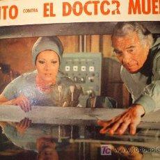 Cinéma: FOTOCROMO ORIGINAL: SANTO CONTRA EL DR MUERTE. Lote 12635593