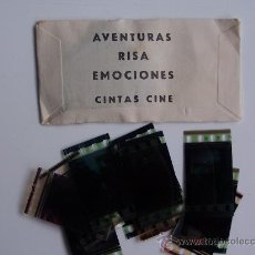 Cine: SOBRE BLANCO PRECINTADO DE FOTOGRAMAS RECORTES DE PELICULAS ACTUALES.. Lote 195075223