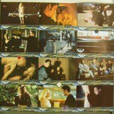 Cine: ID79D CARRETERA PERDIDA LOST HIGHWAY DAVID LYNCH SET COMPLETO 12 FOTOCROMOS ORIGINAL ESTRENO. Lote 213641886
