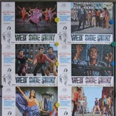 Cine: IG72 WEST SIDE STORY NATALIE WOOD SET COMPLETO 10 FOTOCROMOS ORIGINAL. Lote 13557664