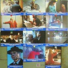 Cine: IG93 POLTERGEIST 3 FENOMENOS EXTRAÑOS SET COMPLETO 12 FOTOCROMOS ORIGINAL ESTRENO. Lote 13558566