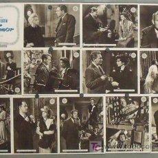 Cine: VO13D SIN AMOR KATHARINE HEPBURN SPENCER TRACY SET COMPLETO 13 FOTOCROMOS ORIGINAL ESTRENO. Lote 13720862