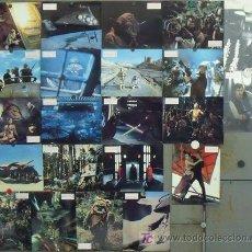 Cine: SCJ IM99D EL RETORNO DEL JEDI GUERRA DE LAS GALAXIAS STAR WARS SET 22 FOTOCROMOS ORIGINAL ALEMAN. Lote 18546895