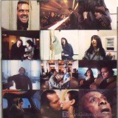 Cine: ZK73D EL RESPLANDOR STANLEY KUBRICK JACK NICHOLSON SET 12 FOTOCROMOS ORIGINAL AMERICANO. Lote 17052663