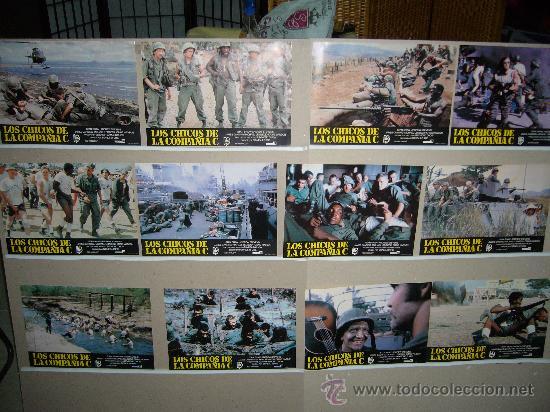 LOS CHICOS DE LA COMPAÑIA C FUTBOL GUERRA DE VIETNAM JUEGO COMPLETO B2(874) (Cine - Fotos, Fotocromos y Postales de Películas)