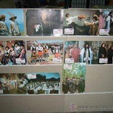 Cine: LA LOCA HISTORIA DE LOS TRES MOSQUETEROS MARTES Y TRECE NADIUSKA 11 FOTOCROMOS YY. Lote 13986830