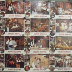 Cine: IS46 BRUJAS MAGICAS ANDRES PAJARES SET COMPLETO 12 FOTOCROMOS ORIGINAL ESTRENO. Lote 14016580