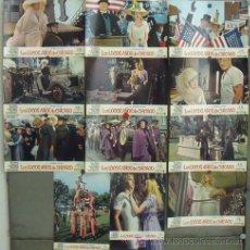 Cine: IU87 LOS LOCOS AÑOS DE CHICAGO MELINA MERCOURI SET COMPLETO 12 FOTOCROMOS ORIGINAL ESTRENO. Lote 14079433
