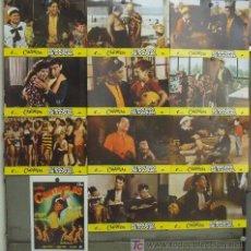 Cine: IV98 EL BOLERO DE RAQUEL MARIO MORENO CANTINFLAS SET COMPLETO 12 FOTOCROMOS ORIGINAL ESPAÑOL. Lote 14098219