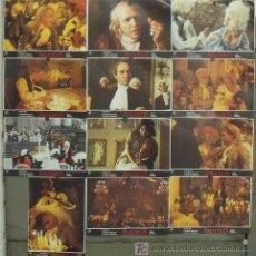Cine: IW27 AMADEUS MILOS FORMAN SET COMPLETO 12 FOTOCROMOS ORIGINAL ESTRENO. Lote 14100855
