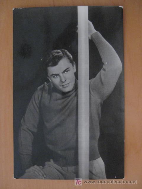 POSTAL FOTOGRAFICA JOHN SAXON (Cine - Fotos y Postales de Actores y Actrices)