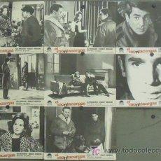 Cine: IX12 EL MONTACARGAS ROBERT HOSSEIN LEA MASSARI SET 8 FOTOCROMOS ORIGINAL ESTRENO. Lote 14115915