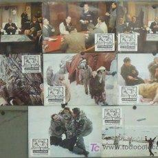 Cine: IX29 LA TIENDA ROJA CLAUDIA CARDINALE SEAN CONNERY SET 8 FOTOCROMOS ORIGINAL ESTRENO. Lote 14116114
