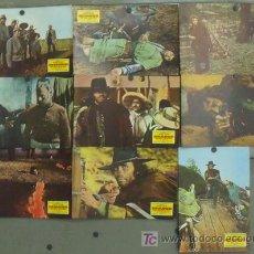 Cine: IX37 SHANGO PISTOLA INFALIBLE ANTHONY STEFFEN SPAGHETTI SET 9 FOTOCROMOS ORIGINAL ESTRENO. Lote 14116168