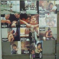 Cine: IZ44 MARATHON MAN DUSTIN HOFFMAN LAURENCE OLIVIER SET 11 FOTOCROMOS ORIGINAL ESTRENO. Lote 14180596