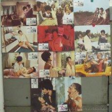 Cine: IZ48 LOS PECADOS INCONFESABLES DE UNA SEÑORA BIEN ANNA MOFFO SET 11 FOTOCROMOS ORIGINAL ESPAÑOL. Lote 14180650