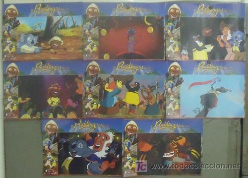 IZ85 EL PUDDING MAGICO WALT DISNEY SET COMPLETO 8 FOTOCROMOS ORIGINAL ESTRENO (Cine - Fotos, Fotocromos y Postales de Películas)