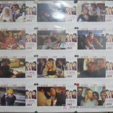 Cine: JD90 EL DIARIO DE BRIDGET JONES RENEE ZELLWEGER HUGH GRANT SET 12 FOTOCROMOS ORIGINAL ESTRENO. Lote 14213938