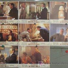 Cine: JF56 ASESINATO EN BEVERLY HILLS BRUCE WILLIS JAMES GARNER SET 8 FOTOCROMOS ORIGINAL ESTRENO. Lote 14263634