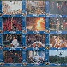 Cine: JH04 EL PODER DE UN DIOS EDWARD ZENTARA ANNE GAUTIER SET COMPLETO 12 FOTOCROMOS ORIGINAL ESTRENO. Lote 14292004