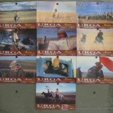 Cine: JH61 URGA NIKITA MIKHALKOV SET COMPLETO 10 FOTOCROMOS ORIGINAL ESTRENO. Lote 14302427