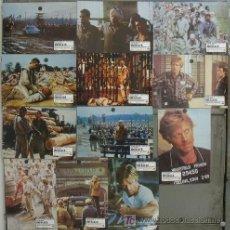 Cine: JI84 BRUBAKER ROBERT REDFORD SET COMPLETO 12 FOTOCROMOS ORIGINAL ESTRENO. Lote 14347282