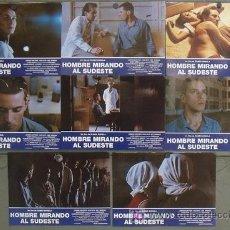 Cine: JK37 HOMBRE MIRANDO AL SUDESTE EUSEBIO SUBIELA SET COMPLETO 8 FOTOCROMOS ORIGINAL ESTRENO. Lote 182959360