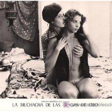 Cine: FCJ 4242 VICTORIA ABRIL LA MUCHACHA DE LAS BRAGAS DE ORO DESNUDA FOTO B/N ORIGINAL ESPAÑOLA. Lote 15160444