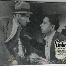 Cine: EMBRUJO - LOLA FLORES - MANOLO CARACOL - 1 FOTOCROMO ACARTONADO . Lote 15433763